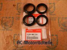 Honda ST1100 Gabelsimmerringe mit  Staubkappen Dichtsatz Vorderradgabel Orig Neu