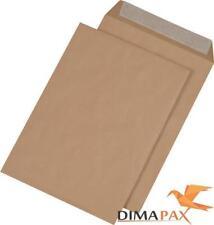 Versandtaschen DIN B4 Haftklebung 250 x 353 mm Briefumschläge braun