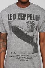 Led Zeppelin I 1969 UK BLIMP Tour T-Shirt NWT Licensed & Official