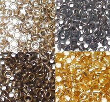 Tamaño 500 ojales de acero y arandelas de 5 mm en diámetro-fijación herramienta disponible