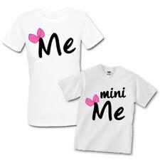 T-shirt mamma e bimba Me e mini Me madre e figlia, idea regalo festa della mamma