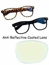 Anti Glare Coated Reading Glasses Classic Retro Design Black or Tortoise TN49AG