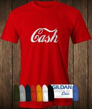 Cash T-shirt worn by Jack White Stripes Johnny classic rock capitalism shirt