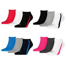Puma 3 Paar UNISEX LIFESTYLE SNEAKERS Sneakersocken Unisex Socken Socks Strümpfe