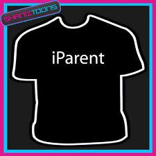 I PARENT MUM DAD FUNNY SLOGAN TSHIRT
