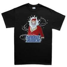 Snow Rider Santa Weihnachten Xmas NEU Geschenk Herren T Shirt Tee Top T-Shirt