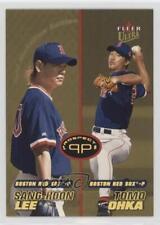 2001 Fleer Ultra Gold Medallion Edition #242G Sang-Hoon Lee Tomokazu Ohka Card
