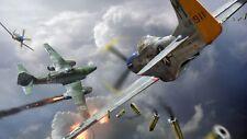 WW2 German Luftwaffe Fighter Plane Messerschmitt Me-262 Hit Picture