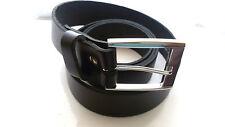 "Mens/Boys/Gents 1,5"" Genuine Leather Belt/Real Leather Belt Made in UK  28""-54"""