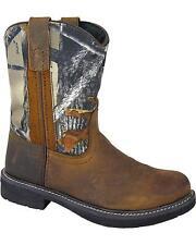 Smoky Mountain Boys' Buffalo Wellington Western Boot Round Toe  2463C/2463Y