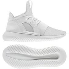 Adidas Originals Women's Tubular Defiant Trainers High Tops Sneakers White