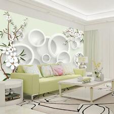 3D Fresh Flowers Rings 2129 Wallpaper Decal Dercor Home Kids Nursery Mural Home
