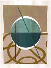 Art Deco Tile Backsplash Delores Naskrent Bento Box Ceramic Mural OB-DEL496d