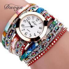 Fashion Watches Women Quartz Watch Luxury Bracelet Flower Gemstone Wristwatch