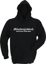 Gladbach you'll never walk alone / Hoodie / Kapu / 9 Farben - Gr. S bis XXL