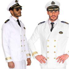 Admiral Marine Uniform Kapitän Jacke blau Herren Kostüm Jacket Seemann Offizier