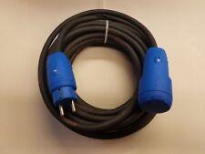Verlängerungskabel (Aussen) H07RN-F 3x2,5 mit blauen Steckern ab 2m bis 50m IP44
