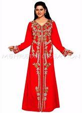 DUBAI ARABIAN ARABIC MODERN PARTY WEAR  DRESS FOR WOMEN CLOTHING EDH 3141
