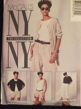 Sassy OOP McCALLS 6434 Designer NY/NY Jacket Top Pants & Shorts PATTERN 4-6-8 UC