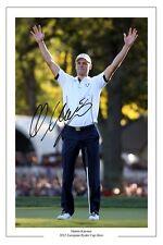 Martin Kaymer 2012 Ryder Cup signé autographe photo print