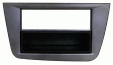 Mascherina con foro ISO-Doppio ISO- Doppio DIN colore Grigio Seat Altea-Toledo