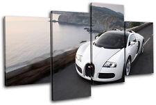 Bugatti Veyron Cars MULTI DOEK WALL ART foto afdrukken