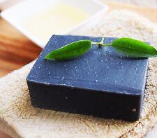 Best Handmade Organic soap {SUPER DETOX CHARCOAL}Botanical Tea Tree, Clay