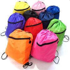 Sac déjeuner école avec cordon de sport sac de livre gym natation pe danse chaussure sac à dos nouveau