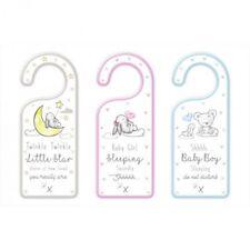 Baby Door Plaque Wooden - Assorted Designs - NEW