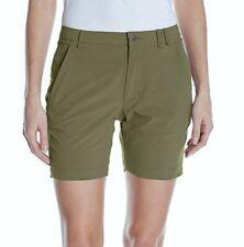 "SPYDER Ella Deep Lichen Green 6"" Wicking Shorts NEW Womens Sz S M 872168"