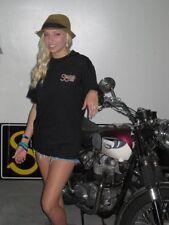 Kneeslider shirt Cafe Racer Classic British Motorcycle