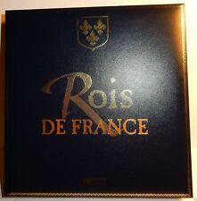 EDITIONS ATLAS BROCHE EPINGLETTE ROI & REINE DE FRANCE + COFFRET vide au choix