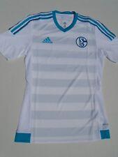 NEU Schalke 04 Trikot adidas orginal Fußball  S M L XL XXL 2XL 164 172 weiss