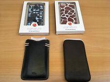 IPHONE 5 5S MOBILE PHONE CASE SIGNATURE LEATHER TULA KNOMO NEW YOU CHOOSE