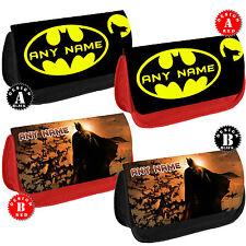 Batman Personalizado Estuche Maquillaje DS Bolsa Escuela Dc Comics Cualquier Nombre Regalo Nuevo