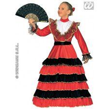 Costume da Bambina Senorita per la Spagna Spagnolo latino americano Costume Vestito
