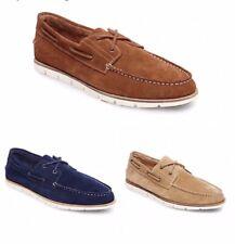 Steve Madden Sailor Suede Men's Boat Shoes.