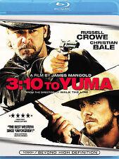 3:10 to Yuma Blu-ray & DVD Russell Crowe, Christian Bale FREE USA SHIPPING!!!