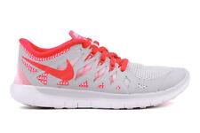 Nike Big Kid's Nike Free (GS) Shoes NEW AUTHENTIC Crimson/White 644446-002