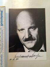 Gerhard Dorfer Star Model Autogramm Autograph Rarität Sammler Original Kino TV
