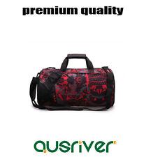 Men Women Outdoor Sport Gym Bag Travel Handbag Training Yoga Shoulder Bag Red