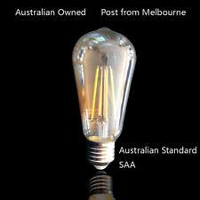 LED DIMMABLE FILAMENT ST58 E27 GLOBE BULB LAMP 6W 680LM Australian Standard SAA