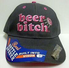 Ball Cap Camo Bottle Opener Pink Deer beer bitch Patriot Vet Whitetail Whisky