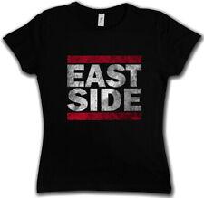 EAST SIDE DAMEN T-SHIRT Fun Shirt Coast USA United States Eastside Westside West
