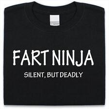 Fart Ninja T-Shirt Funny Mens womens Xmas Christmas Gift Present