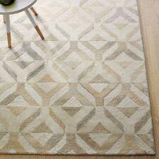 100% Wool Handmade Rug Cowhide style Wool Area RUGS & Carpet
