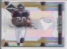 steve slaton rookie rc auto autograph jersey patch west virginia wvu #/25