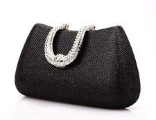 Women Crystal Clutch Evening Bag Prom Dinner Party Wedding Bridal Handbag Purse