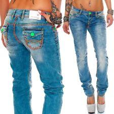 45bcd5230f9f Cipo   Baxx Sexy Damen Jeans Hose Hüftjeans Skinny Slim Fit Stretch Röhre  Design