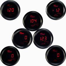 Drehzahlmesser Turbodruck Wasser Öltemperatur Voltmeter Zusatz Instrument Rot AT